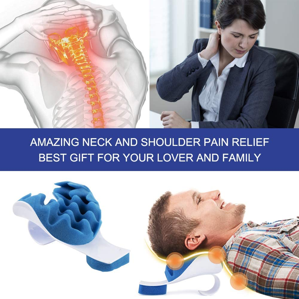Neck and Shoulder relaxer relieves tension