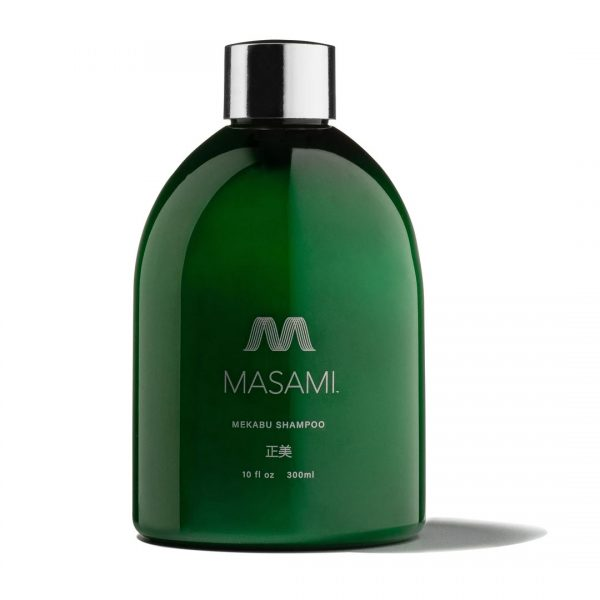 MASAMI Shampoo gently cleanses and nourishes for the ultimate in hydrated hair.