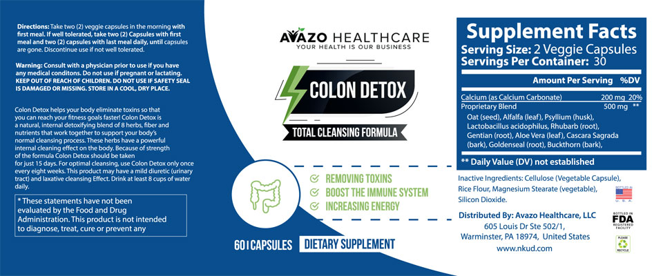 complete colon cleanse you have been looking for is here
