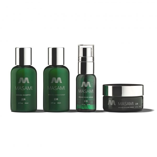 MEKABU HYDRATING HAIRCARE TRAVEL KIT