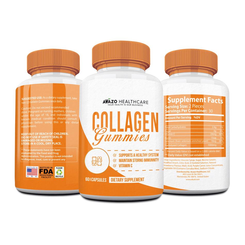 Collagen Gummy Vitamins & Minerals